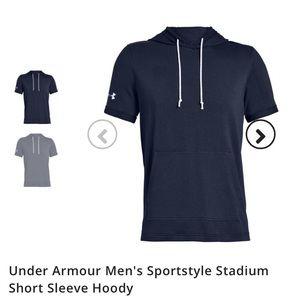 Men's Under Armour Short Sleeve Hoody